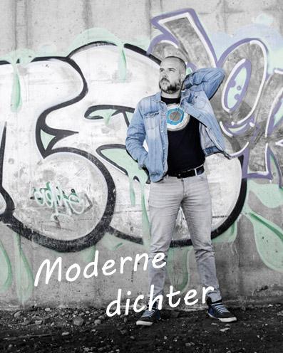 Moderne dichter Eric Hoogeweg