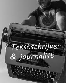 Tekstschrijver en journalist Eric Hoogeweg