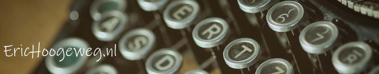 Eric Hoogeweg: tekstschrijver, dichter, songwriter & journalist